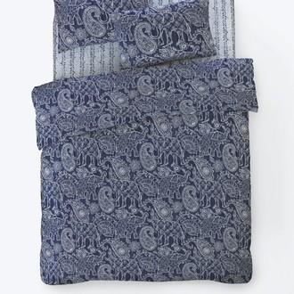 Постельное белье Istanbul Home Collection FANCY BOHEM ранфорс (синий)