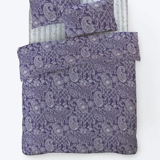 Постельное белье Istanbul Home Collection FANCY BOHEM ранфорс (лиловый)