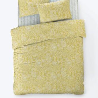Постельное белье Istanbul Home Collection FANCY BOHEM ранфорс жёлтый