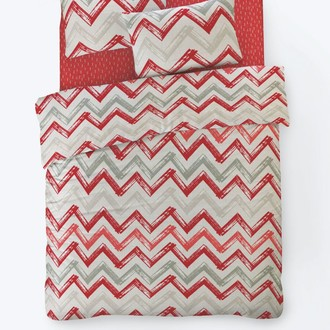 Постельное белье Istanbul Home Collection FANCY CHEVIGNON ранфорс красный
