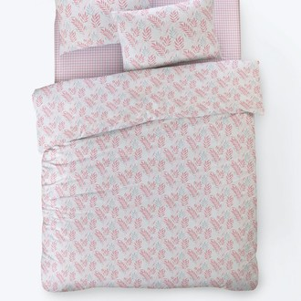 Постельное белье Istanbul Home Collection FANCY OLIVE ранфорс розовый