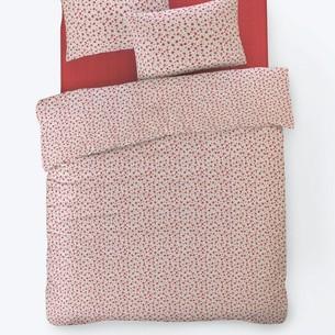 Постельное белье Istanbul Home Collection FANCY TIFFANY ранфорс красный евро
