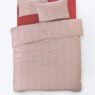 Постельное белье Istanbul Home Collection FANCY TIFFANY ранфорс красный