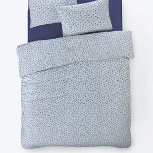 Постельное белье Istanbul Home Collection FANCY TIFFANY ранфорс синий 1,5 спальный