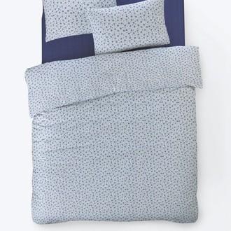 Постельное белье Istanbul Home Collection FANCY TIFFANY ранфорс синий