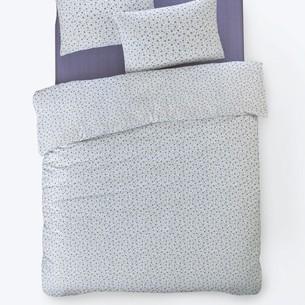 Постельное белье Istanbul Home Collection FANCY TIFFANY ранфорс лиловый 1,5 спальный
