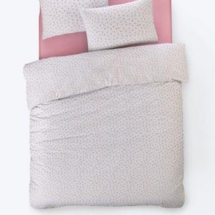 Постельное белье Istanbul Home Collection FANCY TIFFANY ранфорс розовый 1,5 спальный