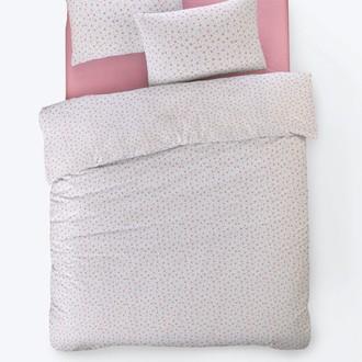 Постельное белье Istanbul Home Collection FANCY TIFFANY ранфорс розовый