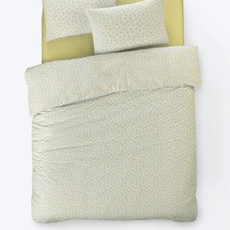 Постельное белье Istanbul Home Collection FANCY TIFFANY ранфорс жёлтый 1,5 спальный