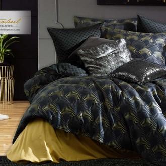 Постельное белье Istanbul Home Collection PURE SATIN ALVINE хлопковый сатин чёрный