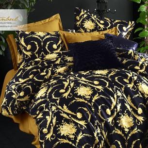 Постельное белье Istanbul Home Collection PURE SATIN VALERIA хлопковый сатин золотой евро