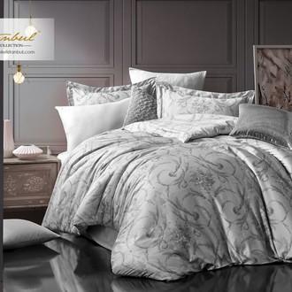 Постельное белье Istanbul Home Collection PURE SATIN VALERIA хлопковый сатин серый