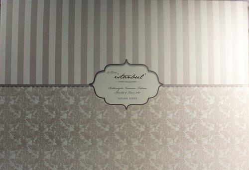 Постельное белье с покрывалом Istanbul Home Collection ROSALINE хлопковый ранфорс пудра евро, фото, фотография