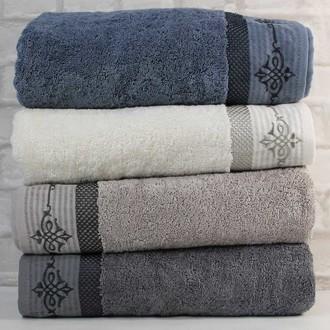 Набор полотенец для ванной 4 шт. Pupilla ASPENDOS хлопковая махра