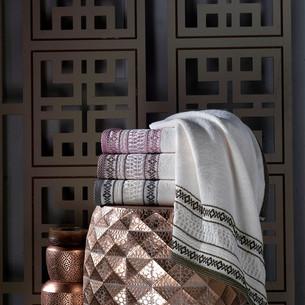 Набор полотенец для ванной 4 шт. Pupilla OTANTIK хлопковая махра V1 70х140