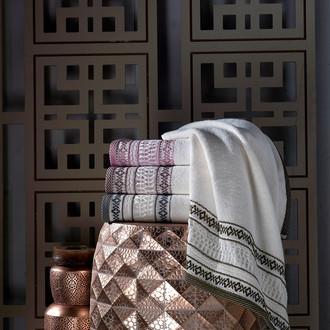 Набор полотенец для ванной 4 шт. Pupilla OTANTIK хлопковая махра