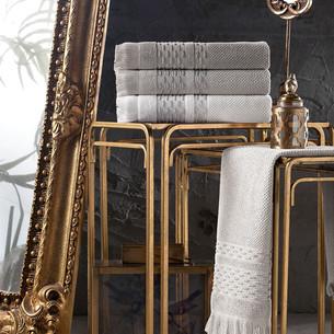 Набор полотенец для ванной 4 шт. Pupilla STORY хлопковая махра 50х90