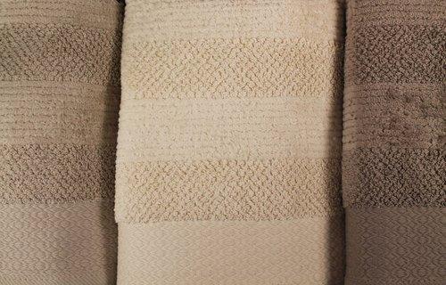 Набор полотенец для ванной 4 шт. Pupilla LIFE хлопковая махра 70х140, фото, фотография