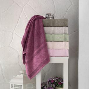 Набор полотенец для ванной 6 шт. Pupilla AHENK хлопковая махра 70х140