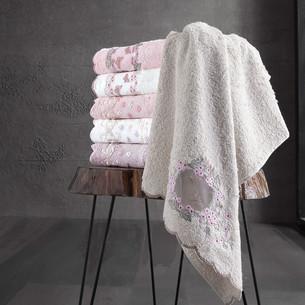 Набор полотенец для ванной 6 шт. Pupilla ARMONI бамбуковая махра 70х140