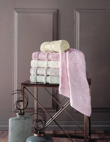 Набор полотенец для ванной 6 шт. Pupilla CLASS бамбуковая махра 50х90, фото, фотография