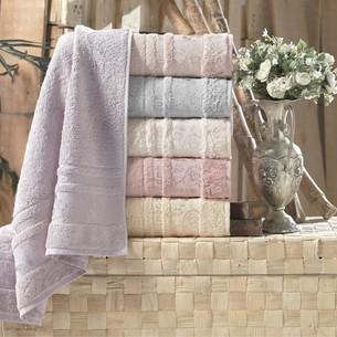 Набор полотенец для ванной 6 шт. Pupilla DIAMOND бамбуковая махра 70х140