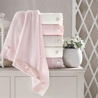 Набор полотенец для ванной 6 шт. Pupilla DAISY бамбуковая махра