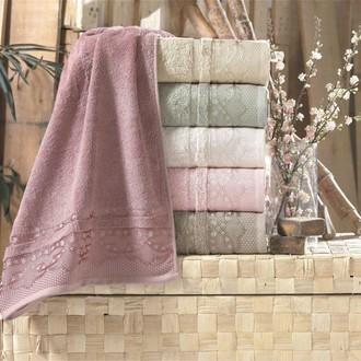 Набор полотенец для ванной 6 шт. Pupilla DESTAN бамбуковая махра