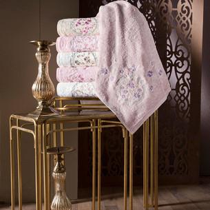 Набор полотенец для ванной 6 шт. Pupilla ECE бамбуковая махра 70х140