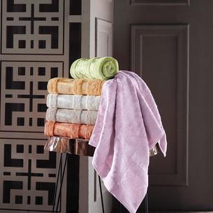 Набор полотенец для ванной 6 шт. Pupilla ELIT бамбуковая махра 50х90