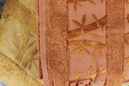 Набор полотенец для ванной 6 шт. Pupilla ELIT бамбуковая махра V2 30х50, фото, фотография