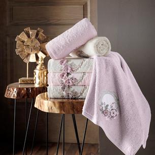Набор полотенец для ванной 6 шт. Pupilla HAYAL бамбуковая махра 50х90