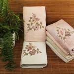 Набор полотенец для ванной 6 шт. Pupilla HAYAL бамбуковая махра 50х90, фото, фотография