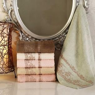 Набор полотенец для ванной 6 шт. Pupilla MICSOFT бамбуковая махра 70х140