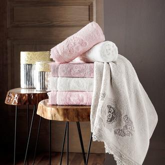 Набор полотенец для ванной 6 шт. Pupilla OLIVYUM бамбуковая махра