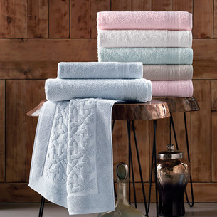 Набор полотенец для ванной 6 шт. Pupilla PIRAMIT хлопковая махра 70х140