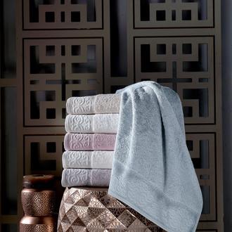 Набор полотенец для ванной 6 шт. Pupilla SILA бамбуковая махра