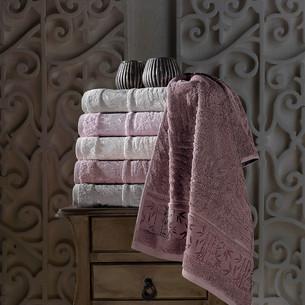 Набор полотенец для ванной 6 шт. Pupilla SINGLE бамбуковая махра 70х140