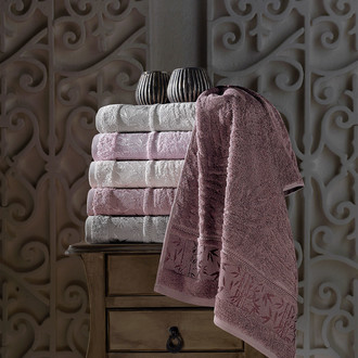 Набор полотенец для ванной 6 шт. Pupilla SINGLE бамбуковая махра