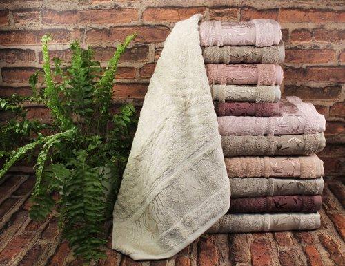 Набор полотенец для ванной 6 шт. Pupilla SINGLE бамбуковая махра 30х50, фото, фотография