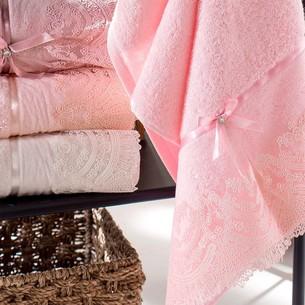 Набор полотенец для ванной 6 шт. Pupilla VITA бамбуковая махра 50х90