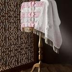 Набор полотенец для ванной в подарочной упаковке 2 пр. Pupilla STIL бамбуковая махра розовый, фото, фотография