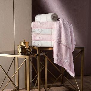 Набор полотенец для ванной в подарочной упаковке 4 шт. Pupilla ALVIN бамбуковая махра 50х90