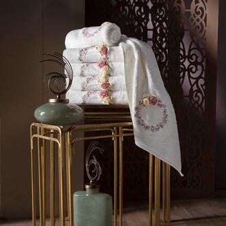 Набор полотенец для ванной в подарочной упаковке 4 шт. Pupilla LINDA бамбуковая махра