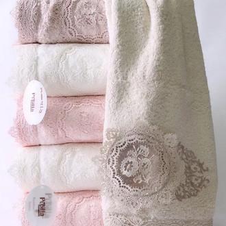 Набор полотенец для ванной в подарочной упаковке 4 шт. Pupilla OLIVYUM бамбуковая махра