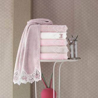 Набор полотенец для ванной в подарочной упаковке 4 шт. Pupilla VENIT бамбуковая махра