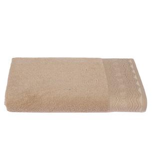 Набор полотенец для ванной 6 шт. Ozdilek ANISSA хлопковая махра кофейный 50х90