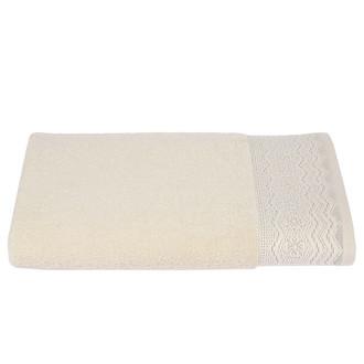 Набор полотенец для ванной 6 шт. Ozdilek ANISSA хлопковая махра кремовый