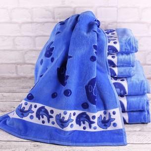 Набор полотенец для ванной 4 шт. Ozdilek DOLPHIN хлопковый велюр 100х150