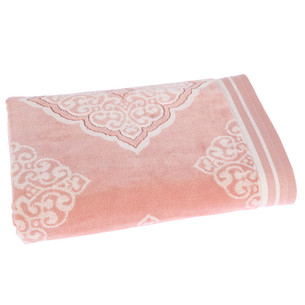 Набор полотенец для ванной 6 шт. Ozdilek MABEL хлопковая махра розовый 70х140